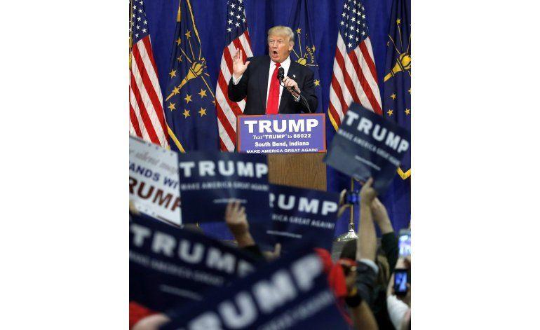 Trump prácticamente asegura la nominación presidencial