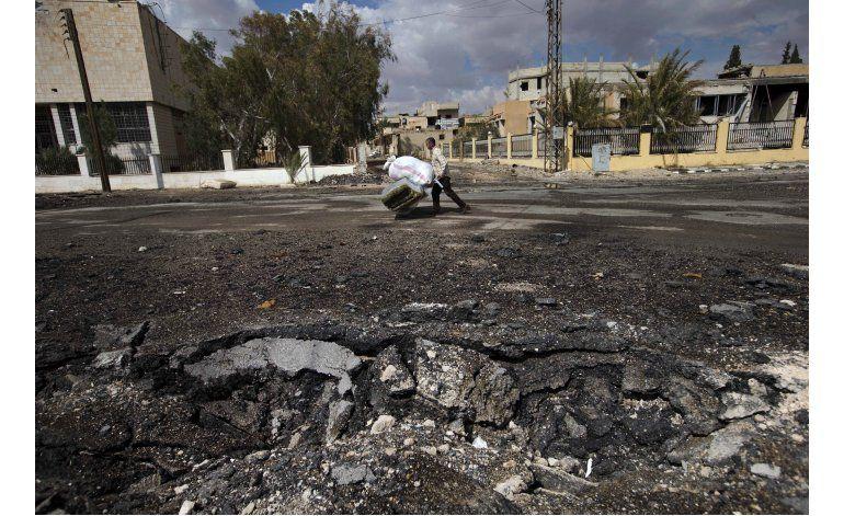 Voluntarios sirios se juegan la vida desactivando minas