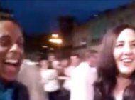 familia castro en el desfile chanel y los cubanos miran desde las barreras