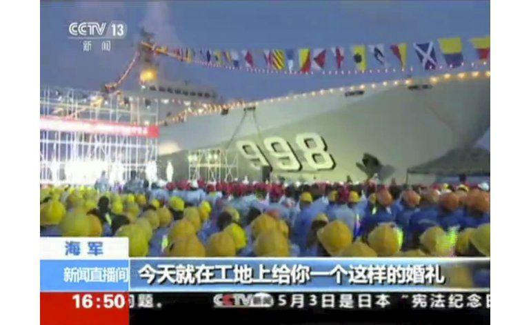 Música, nueva arma del arsenal militar chino