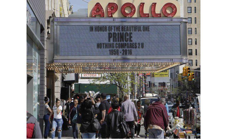 Prince será incorporado al Paseo de la Fama del Apollo