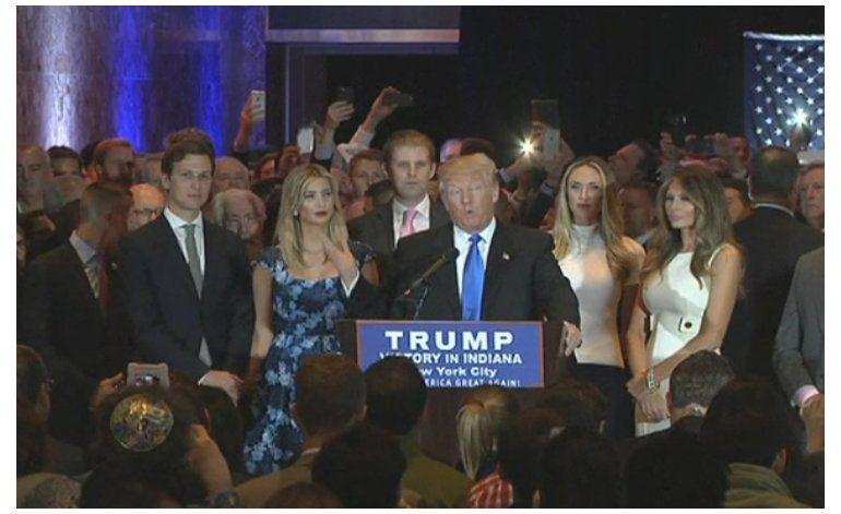 Donald Trump ya es prácticamente el nominado por el Partido Republicano