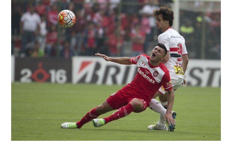 Toluca consigue estéril triunfo ante Sao Paulo