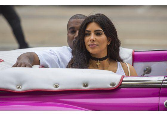 Kanye West y Kim Kardashian visitan La Habana