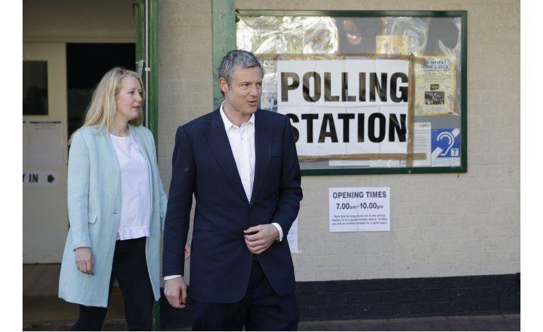 Británicos votan en elección local, posible revés laborista