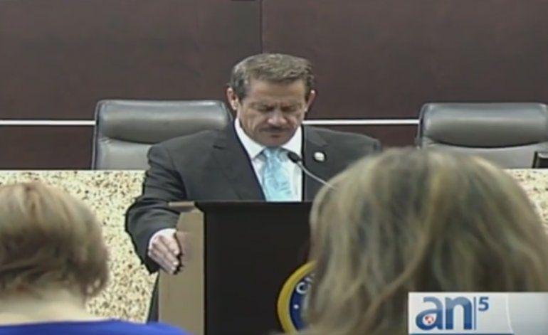 Comisionado José Pepe Díaz  asistió a primer evento público horas después de ser declarado no culpable de DUI