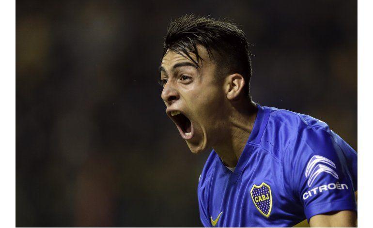 Boca vence 3-1 a Cerro Porteño y avanza