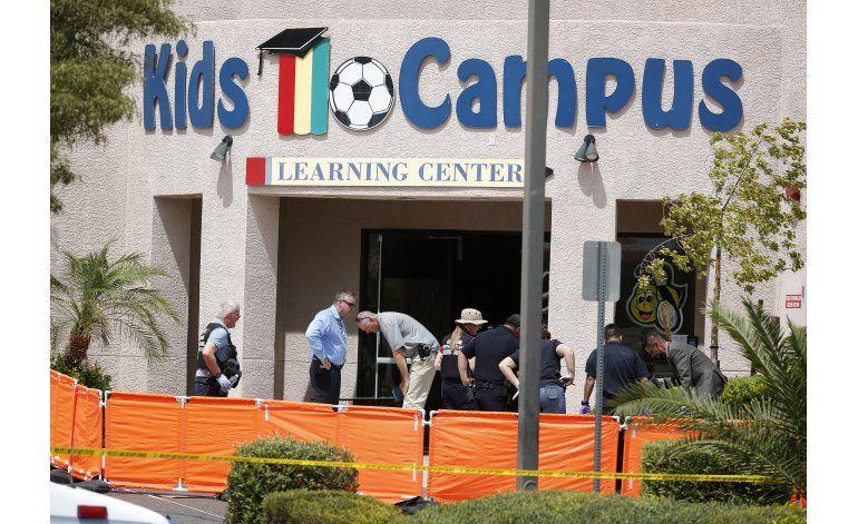 Las Vegas: 2 muertos y 2 heridos tras tiroteo en guardería