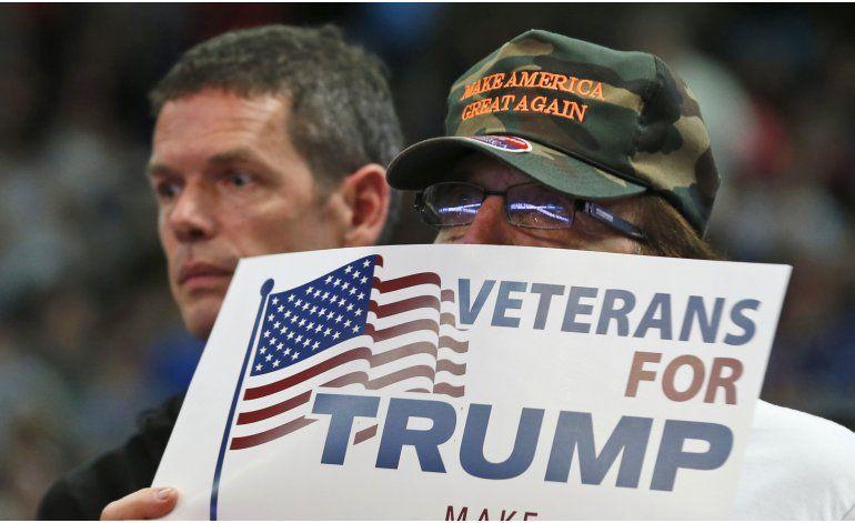 Análisis AP: Trump no logra tranquilizar a republicanos