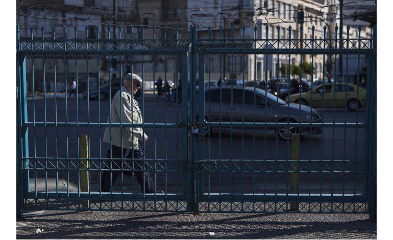 Grecia: Servicios paralizados en inicio de huelga de 3 días
