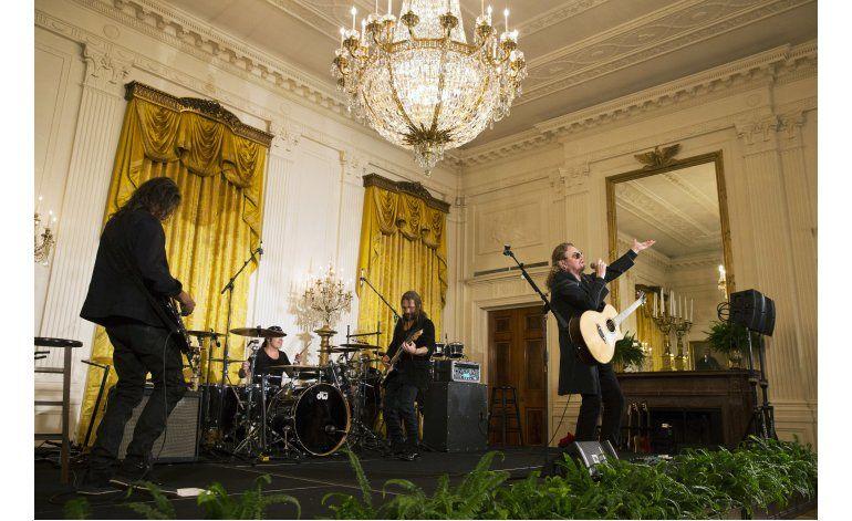 Maná celebra el 5 de Mayo en la Casa Blanca