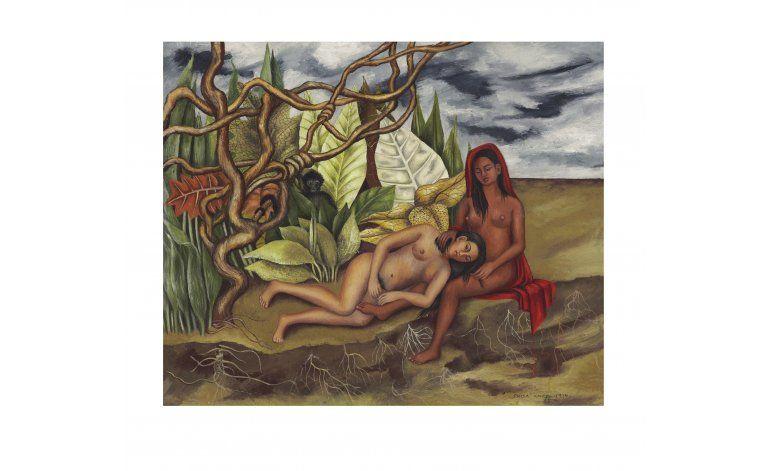 Subastarán cuadro que Kahlo regaló a Dolores del Río