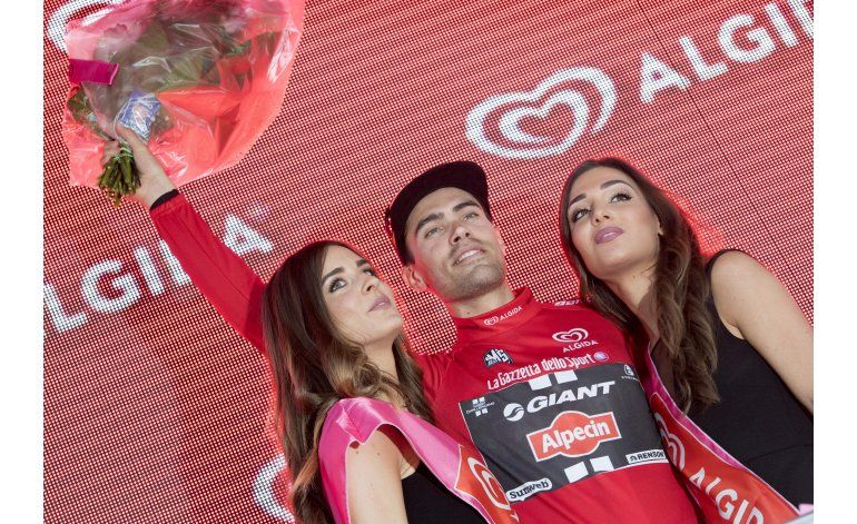 Dumoulin gana la primera etapa del Giro