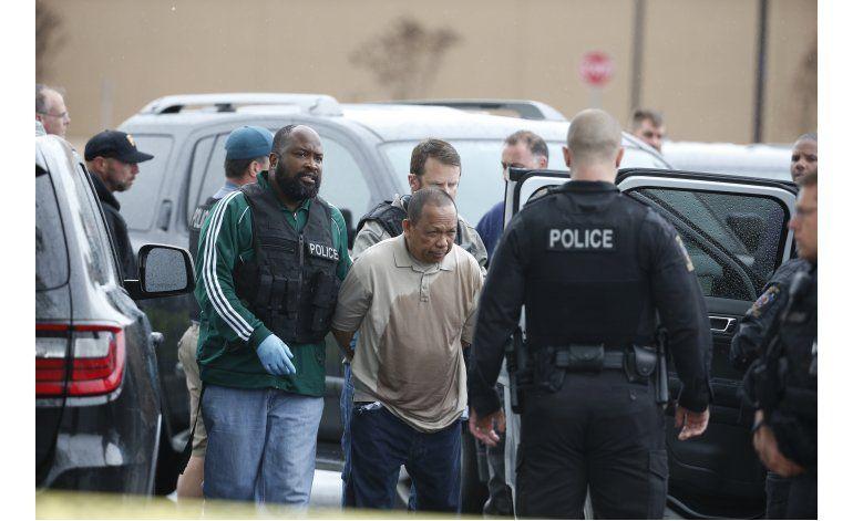 EEUU: Arrestan a presunto responsable de tres balaceras