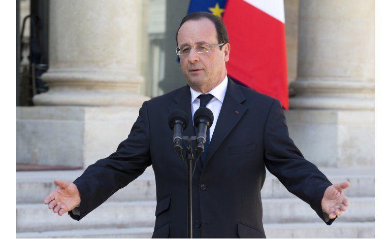 Presidente de Francia se prepara para una posible reelección