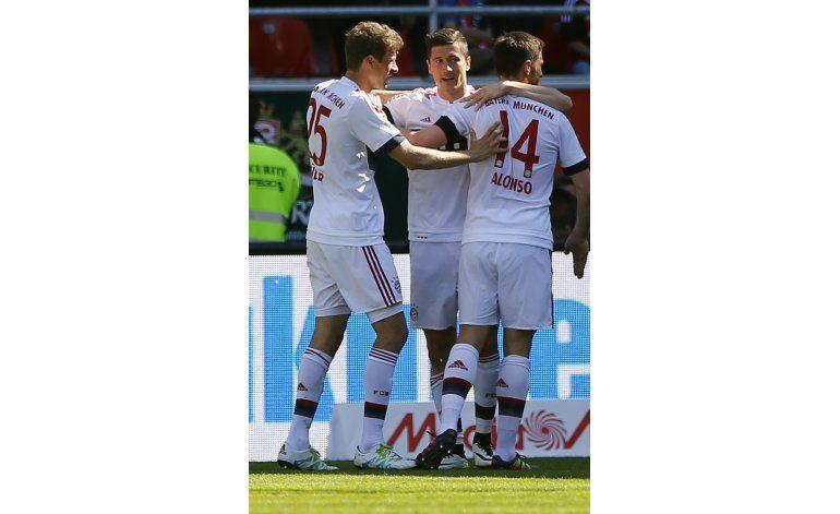 Bayern logra cuarto título consecutivo de la Bundesliga