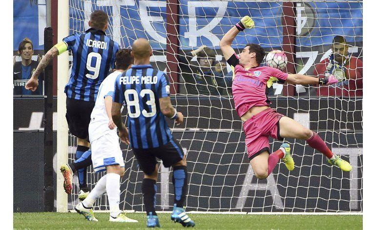 Inter gana y asegura el cuarto lugar en la Serie A
