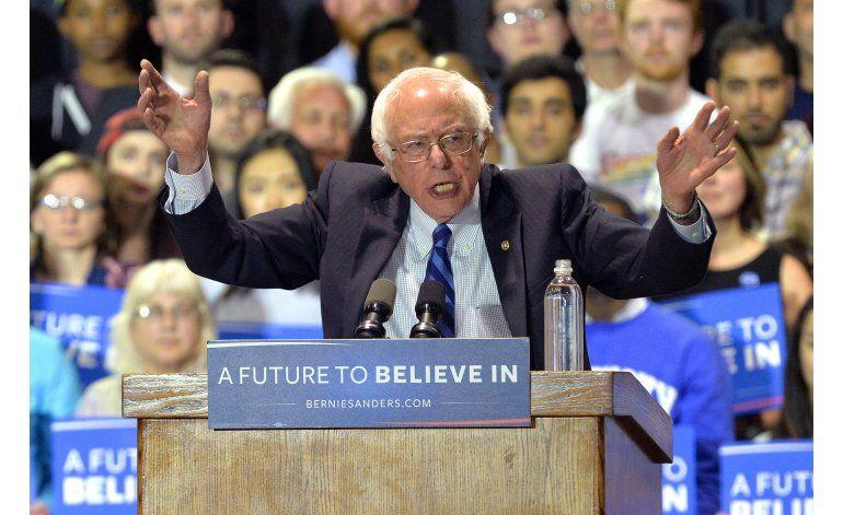 Bernie Sanders suma delegados en estado de Washington