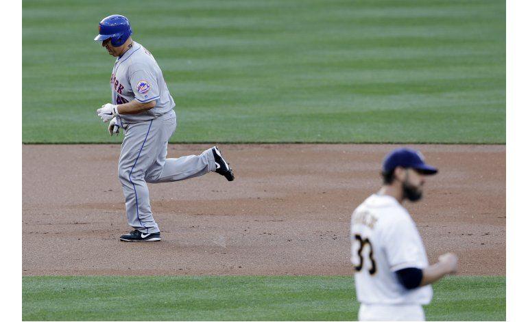Colón pega su 1er jonrón en triunfo de Mets ante Padres