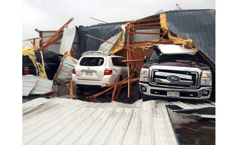 Daños y heridos por tormentas en Colorado y Arizona
