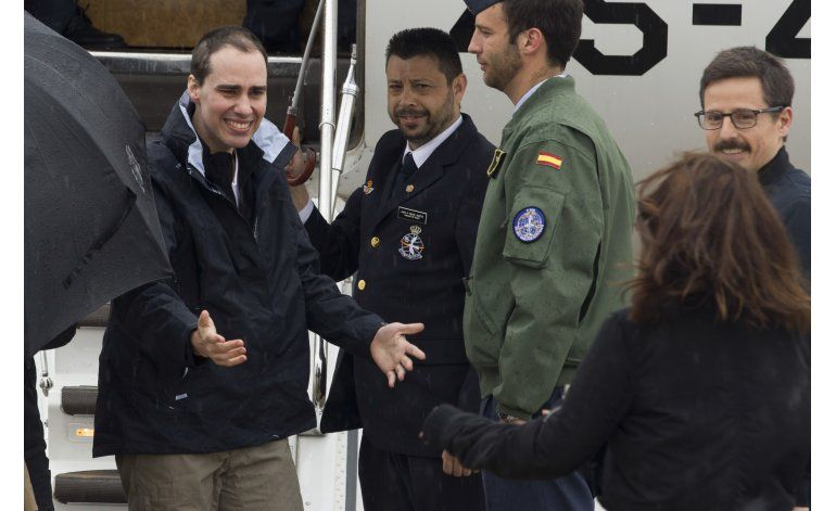 Llegan a España 3 periodistas liberados en Siria