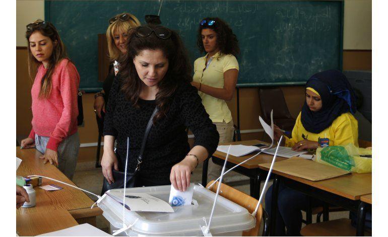 Líbano sostiene elecciones municipales