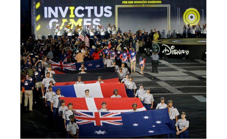 Príncipe Enrique, Michelle Obama abren los Invictus Games