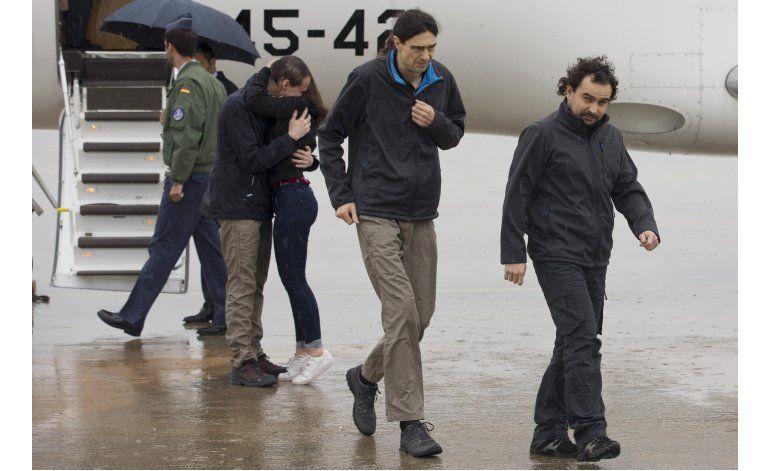 Periodista secuestrado en Siria agradece estar libre