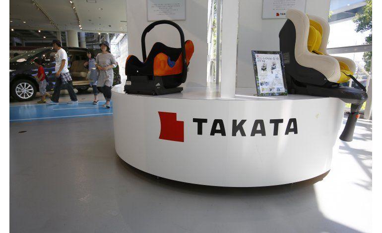 Takata prevé pérdidas por el retiro de bolsas de aire