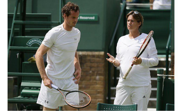 Andy Murray no seguirá trabajando con Amelie Mauresmo