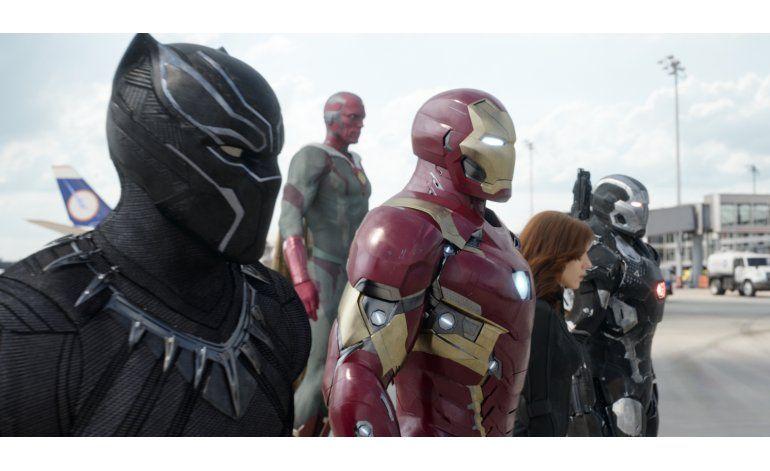 Pese a tropiezo Civil War mantiene récord de estreno