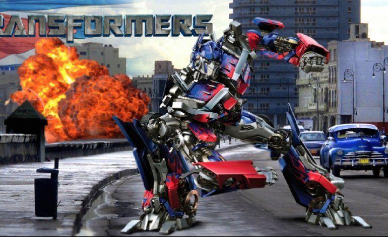 Transformers se grabará en Cuba