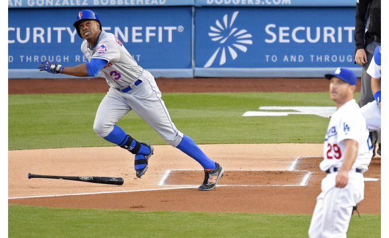 Vuelacercas de Granderson guía a Mets ante Dodgers