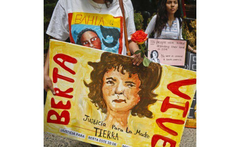 Piden justicia para Berta Cáceres en Nueva York