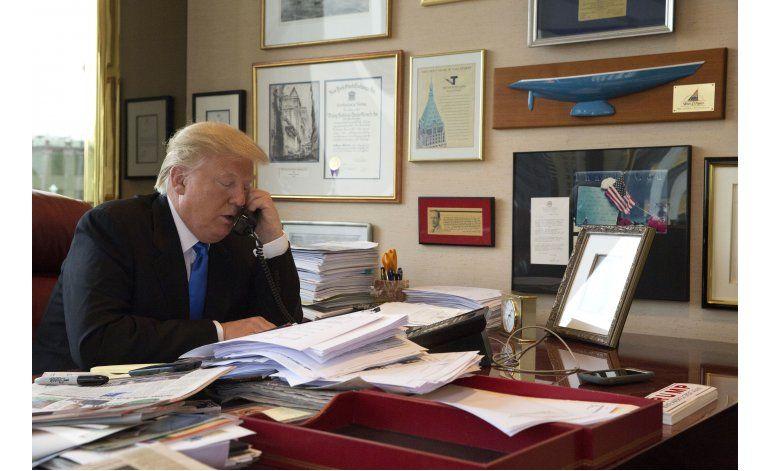 Entrevista AP: Trump: actos masivos, la clave en su campaña