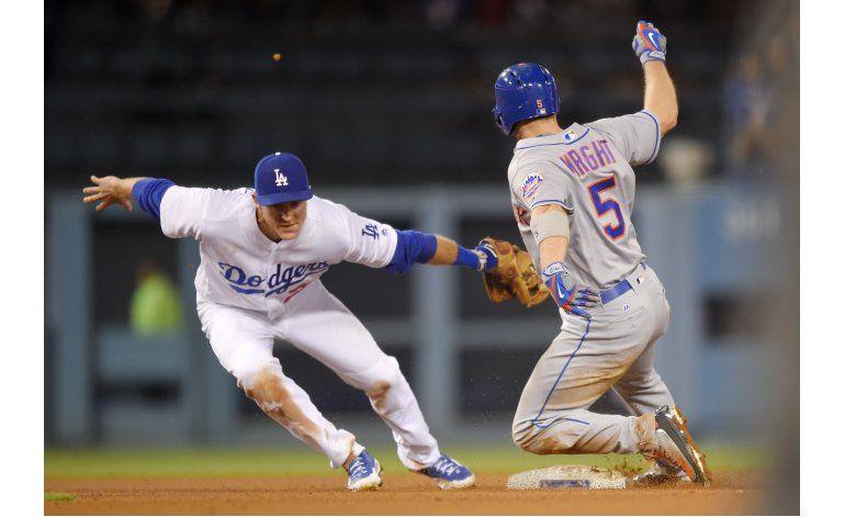 Dodgers ganan a Mets con jonrón de emergente Thompson en 9no