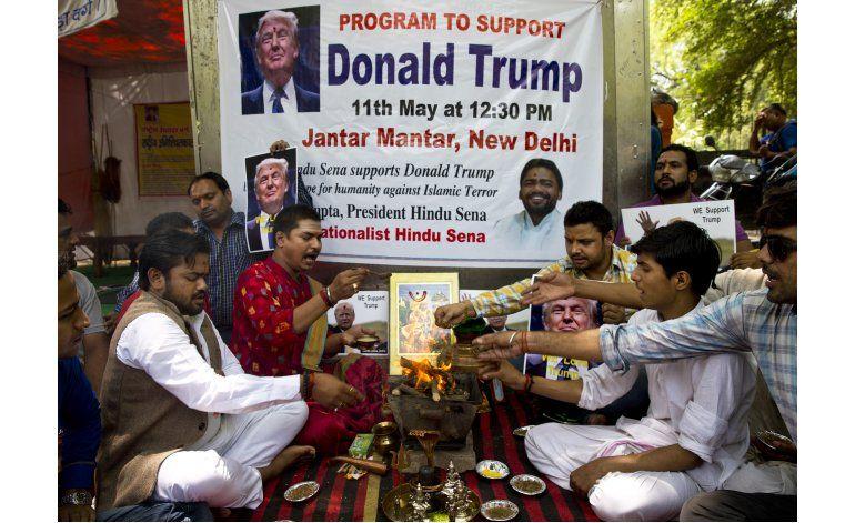 Grupo hindú pide ayuda divina para Trump en las elecciones