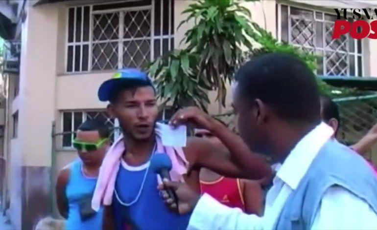 [Video] Protesta de bicitaxistas llega hasta la Plaza de La Revolución