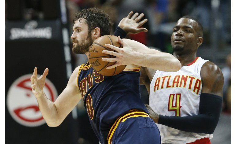 Cavaliers se benefician de gran nivel de Love en playoffs