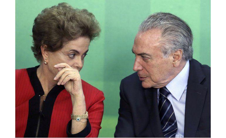 El debate sobre el futuro de Dilma encara su segunda jornada