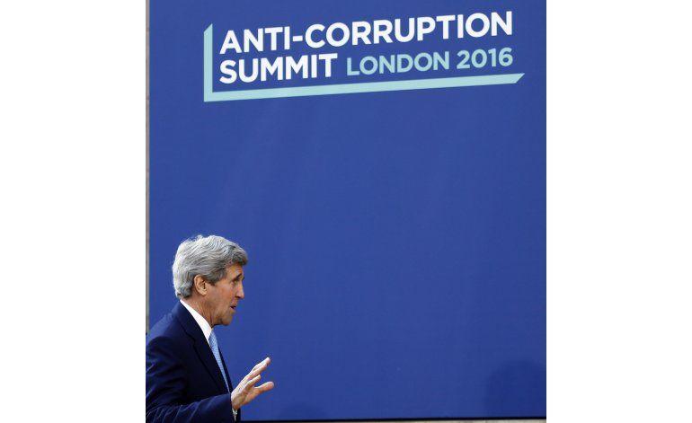 LO ULTIMO: Corrupción es pandemia, dice Kerry en Londres