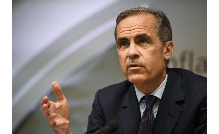Banco de Inglaterra advierte de riesgos de salida de la UE