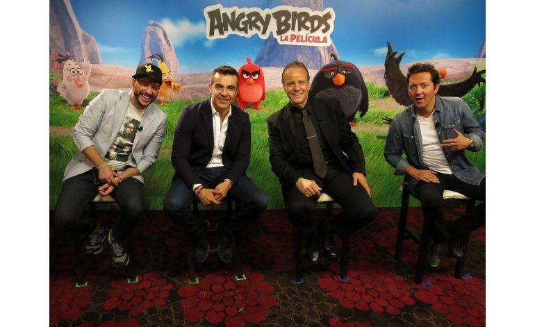 Voces latinas de Angry Birds contra la ira sin control