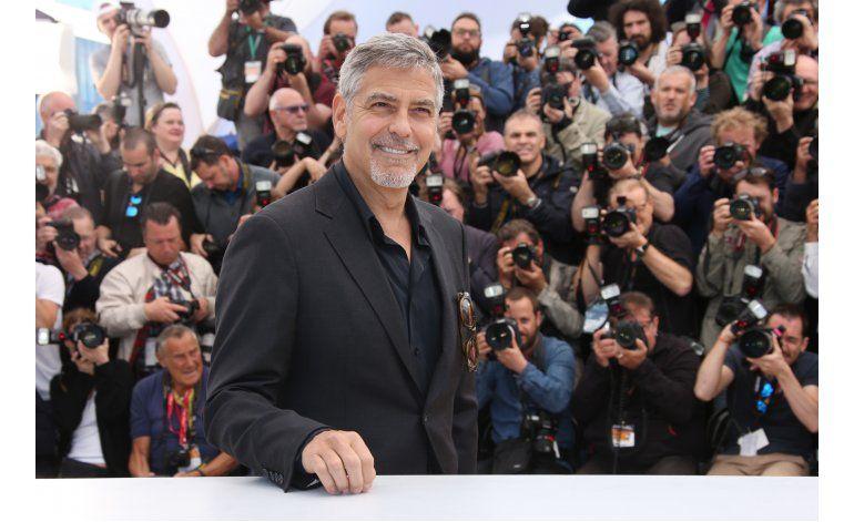 En Cannes, Clooney jura que Trump no será presidente