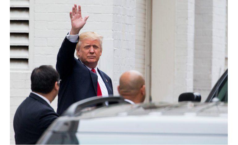 Trump y Ryan prometen cooperar a pesar de sus diferencias