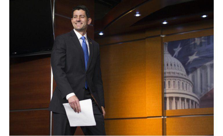 Trump y Ryan prometen trabajar juntos