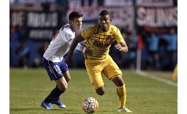 Libertadores: Nacional y Boca empatan 1-1 en cuartos