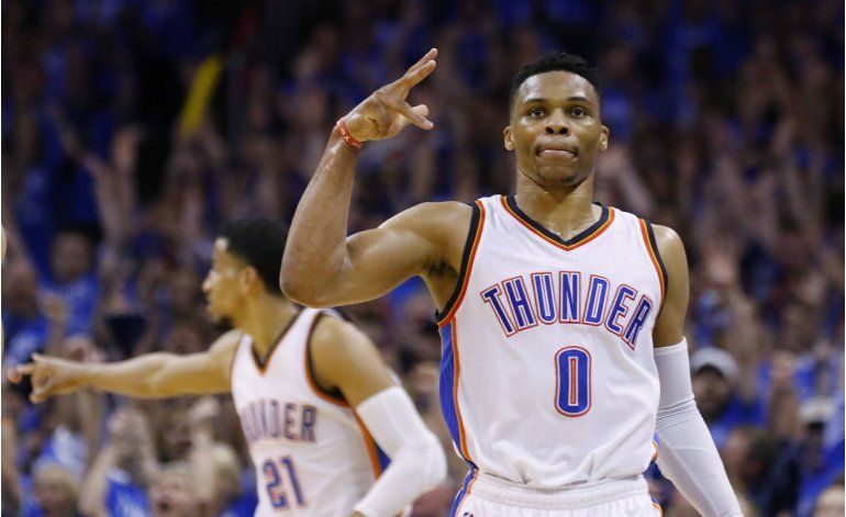 Thunder elimina a Spurs y avanza a final de la Oeste