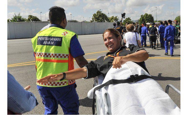 Españoles rescatados en Borneo llegan a ciudad malasia