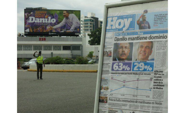 Dominicana: oposición dividida Medina favorito en elecciones
